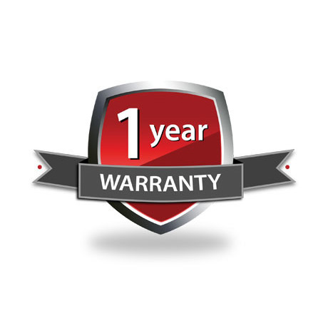 1 year warranty logo